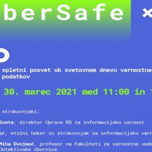 Vabilo na strokovni posvet ob svetovnem dnevu varnostnega kopiranja podatkov