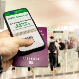 Digitalno zeleno potrdilo za namen potovanj znotraj EU