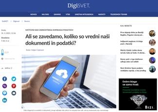 Siol.net - Ali se zavedamo, koliko so vredni naši dokumenti in podatki