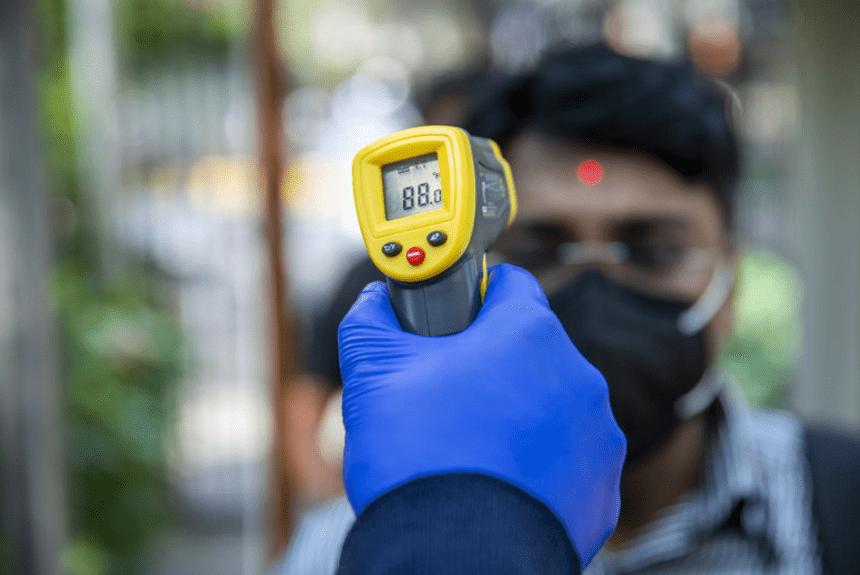 Merjenjem temperature zaposlenih v času širjenja koronavirusa
